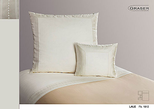 GRASER luxury bed linen - damask and print - mod. lale
