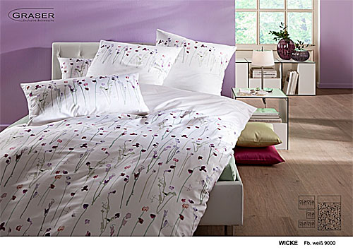 GRASER luxury bed linen - damask and print - mod. Wicke