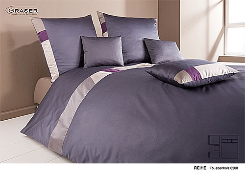 GRASER luxury bed linen - mako satin multi colour - mod. reihe