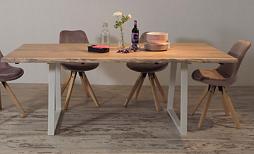 OAK & IRON Dining table Aneto
