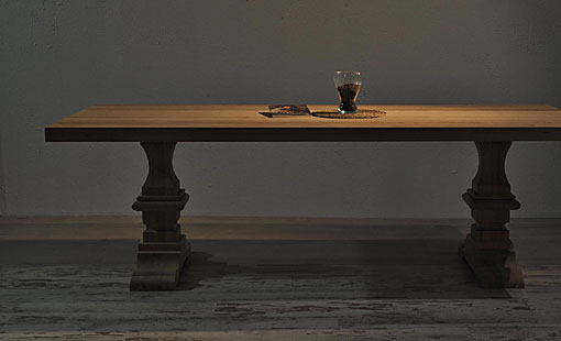 OAK & IRON Dining table Cervino