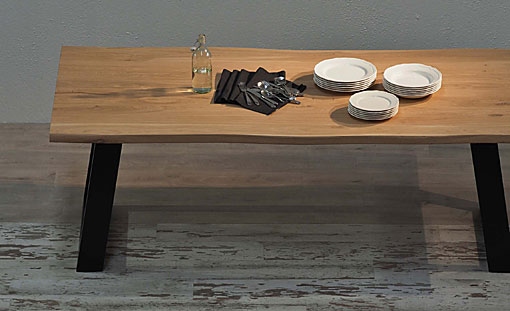 OAK & IRON Dining table Fuji