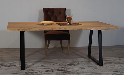 OAK & IRON Dining table K2