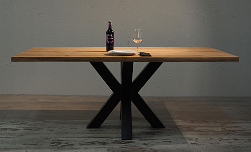 OAK & IRON Dining table Kilimanjaro