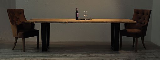 OAK & IRON Dining table Teide