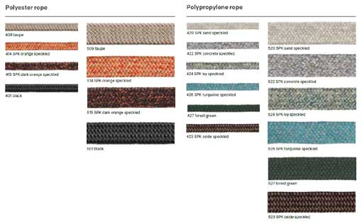 Expormim Rope colours