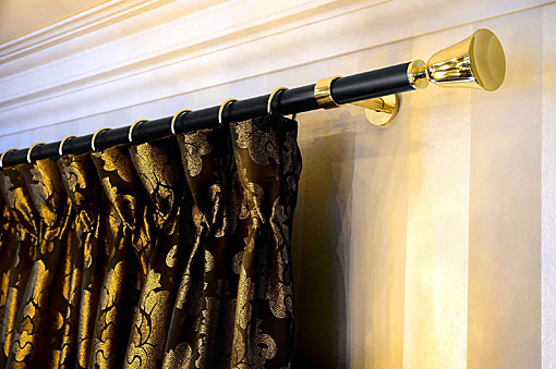 INTERSTIL curtain rods brass 25 - 35mm