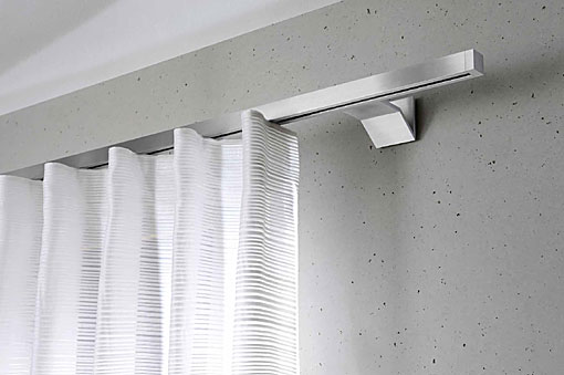 INTERSTIL curtain rails Cuadrado wall fit