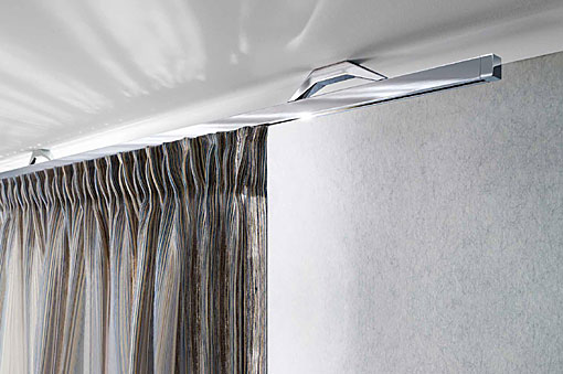 INTERSTIL curtain rails Cuadrado ceiling fit