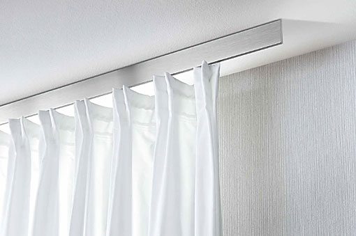 INTERSTIL curtain rails Plano ceiling fit