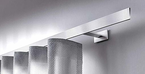INTERSTIL Curtain rail Codex / wall fit