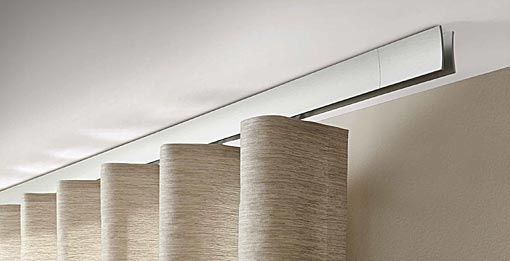 INTERSTIL Curtain rail Sail / ceiling fit