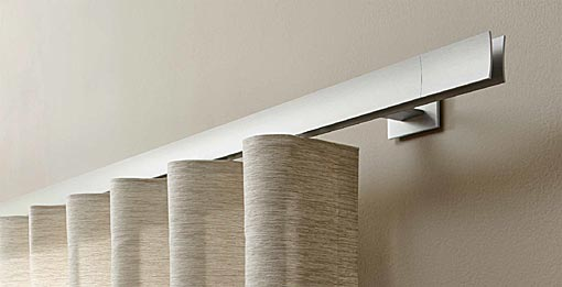 INTERSTIL Curtain rail Sail / wall fit