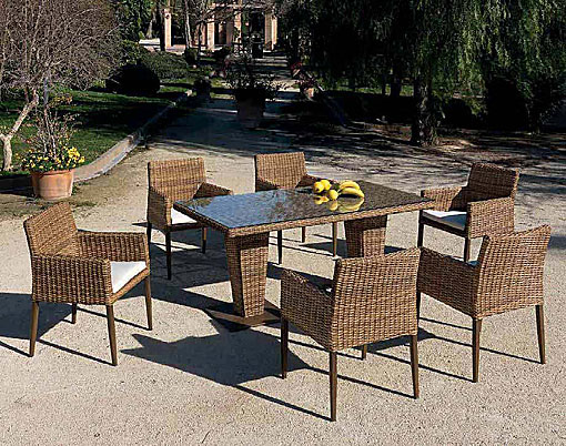 ARKIMUEBLE - Outdoor dining group Agadir
