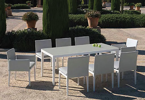 ARKIMUEBLE - outdoor dining group Capri