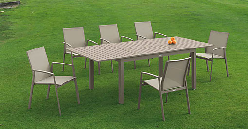 ARKIMUEBLE - Outdoor-Essgruppe Faro