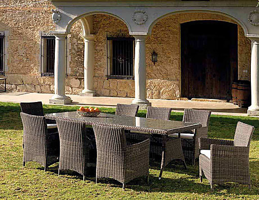 ARKIMUEBLE - Outdoor-dining group Ibiza