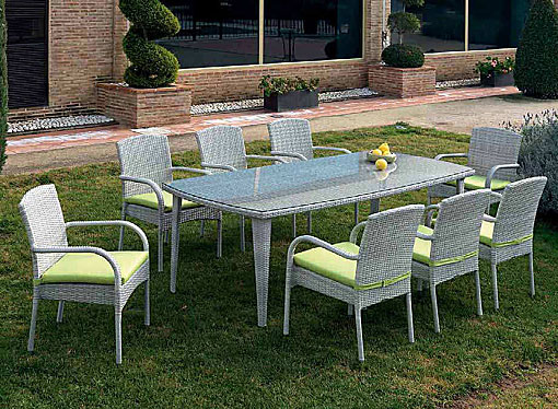 ARKIMUEBLE - outdoor dining group Monaco