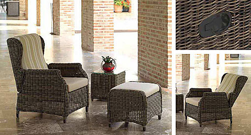 ARKIMUEBLE - Outdoor-Sessel Riviera