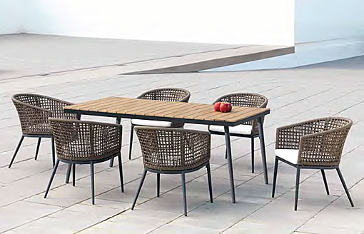 ARKIMUEBLE - outdoor dining group Roma