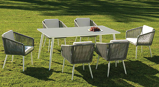 ARKIMUEBLE - outdoor dining group Siena