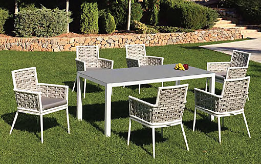 ARKIMUEBLE - outdoor dining group Viena