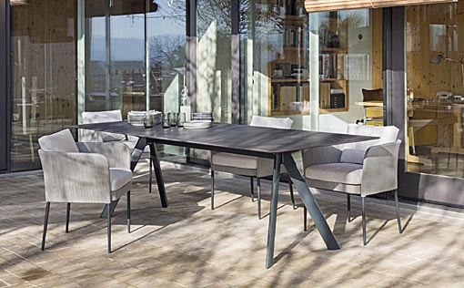 EXPORMIM Dining tables Atrium