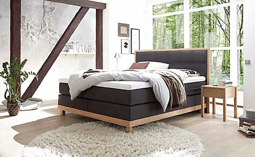HASENA Boxspring bed pronto-chalet
