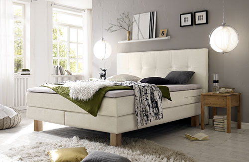 HASENA Boxspring bed pronto-lodge