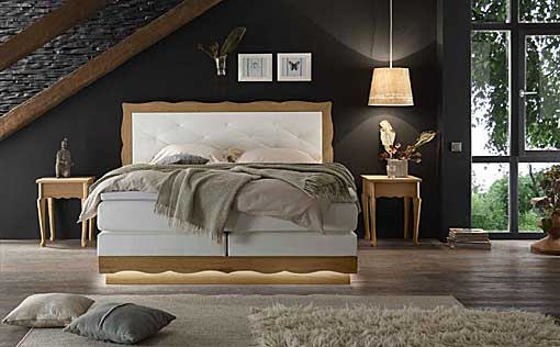 HASENA boxspring bed romantic-forma-montana