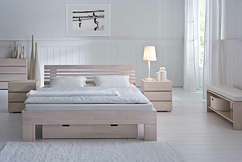 HASENA Wood-Line bed classic-massa-litto