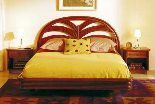 Cane bed Rattandeco 0543