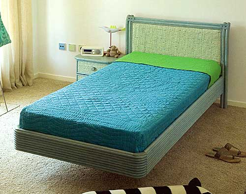 Cane bed Rattandeco 0548