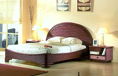 Cane bed Rattandeco 0581