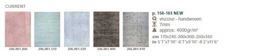 Ligne Pure - rug Current Colours