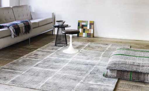 Ligne Pure - rug Shingle