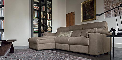 DOIMO SALOTTI - upholstery series leather William