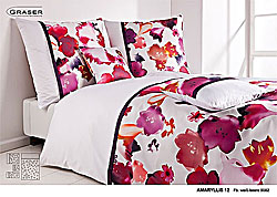 GRASER luxury bed linen - damask and print - model Amaryllis