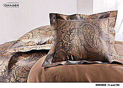 GRASER luxury bed linen - damask and print - model damasc