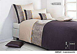 GRASER luxury bed linen - damask and print - model Fortuny
