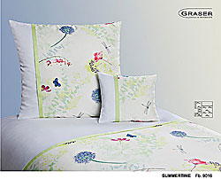 GRASER luxury bed linen - damask and print - model Summertime