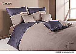 GRASER luxury bed linen - mako satin multi colour - model Giorgio