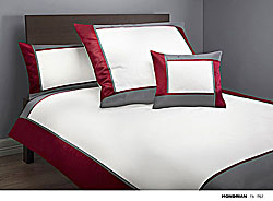 GRASER luxury bed linen - mako satin multi colour - model Mondrian