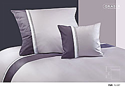 GRASER luxury bed linen - mako satin multi colour - model Pur