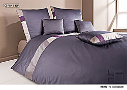 GRASER luxury bed linen - mako satin multi colour - model Reihe