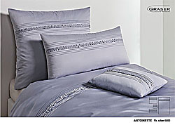 GRASER luxury bed linen - mako satin plain colour - model Antoinette