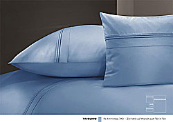 GRASER luxury bed linen - mako satin plain colour - model Triolino