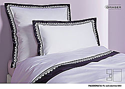 GRASER luxury bed linen - soft lace on mako satin - mod. Passionata