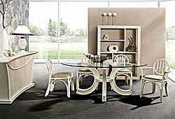 esszimmer moebel aus rattan esstische und s hle mediterranean living mallorca. Black Bedroom Furniture Sets. Home Design Ideas