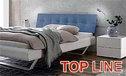 HASENA Top-line - modern beds of laminated MDF